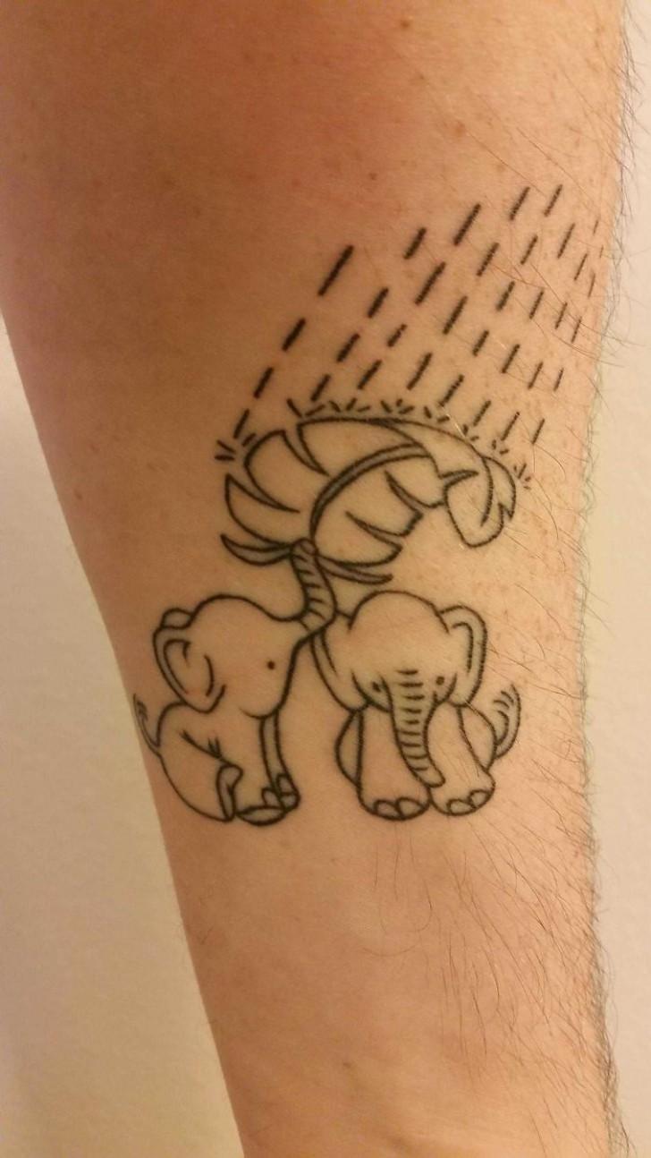 tatuaggio sulla fica