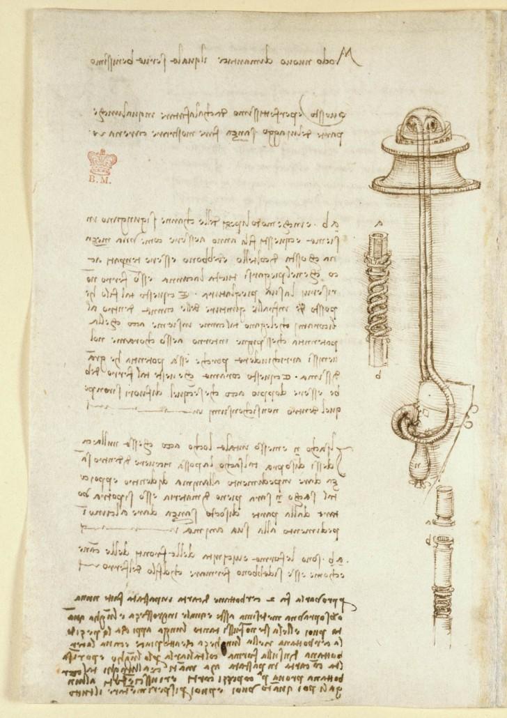 570 Seiten geschrieben von Leonardo Da Vinci sind online und es ist ...