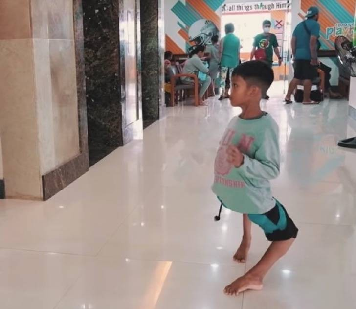 He Is 11 Years Old And His Knees Are Bent Backward But An