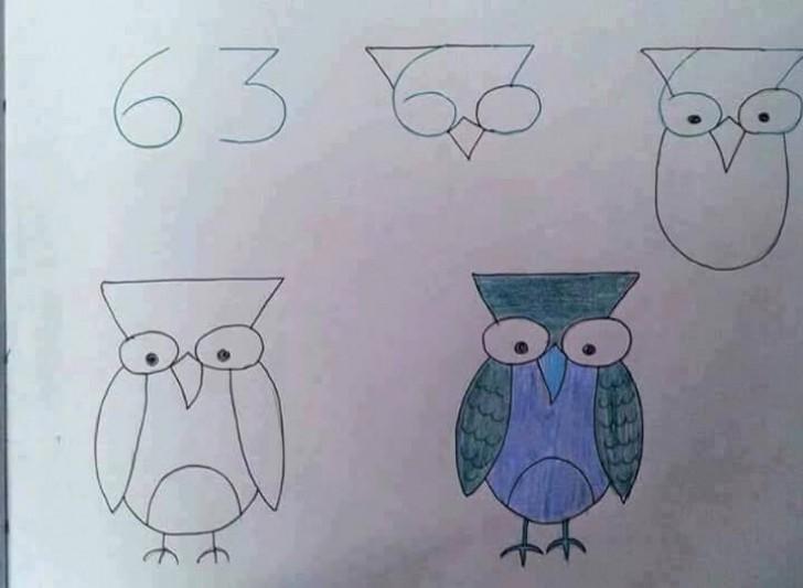 Insegnare Ai Bambini A Disegnare Con L Aiuto Di Numeri E