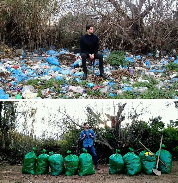 "A new environmental ""challenge"" has appeared on social networks: and we are sure you too will be tempted to participate"