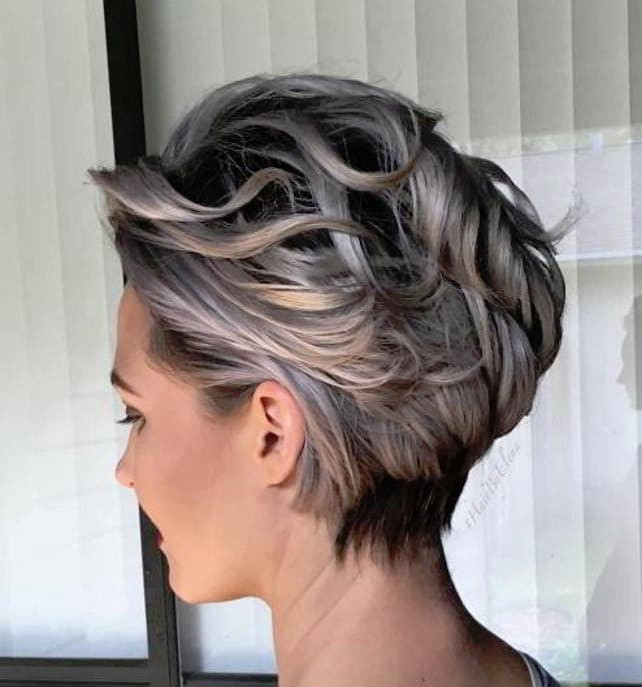 snygga korta frisyrer tjejer