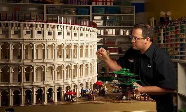 Artista dei Lego