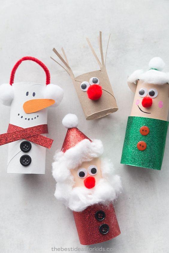 Lavoretti Di Natale Con La Carta Igienica.Lavoretti Di Natale Con I Rotoli Di Carta Igienica 30 Idee Da Realizzare Insieme Ai Bambini Creativo Media