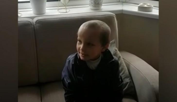 Durante l'isolamento, un bimbo di 5 anni chiede al ...