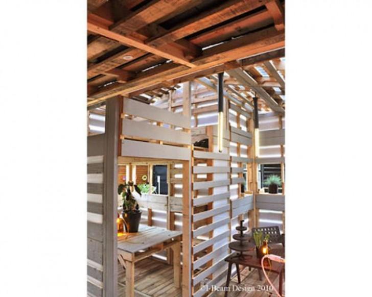 Ecco Come Costruire Una Casa Di Pallet In Un Solo Giorno