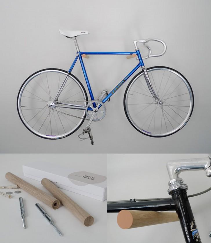 16 soluzioni per sistemare la vostra bici in casa in for Aggiungendo una stanza al garage