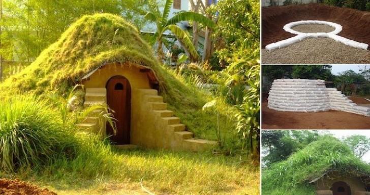 Ecco Come Costruire Una Casa Degli Hobbit Nel Proprio Giardino