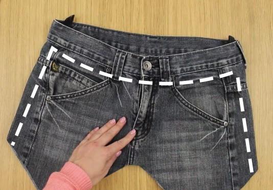 896d57f22f3 Comment transformer un vieux jean en une ceinture multi-usage en 2 ...