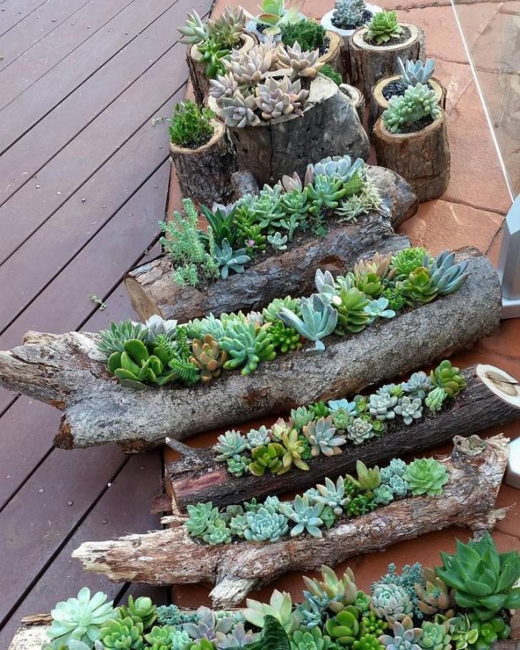 Seht Hier Wie Aus Einem Alten Baumstamm Ein Fabelhaftes Möbelstück