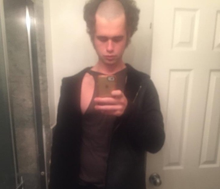 18 haircuts that should be banned by law! 12