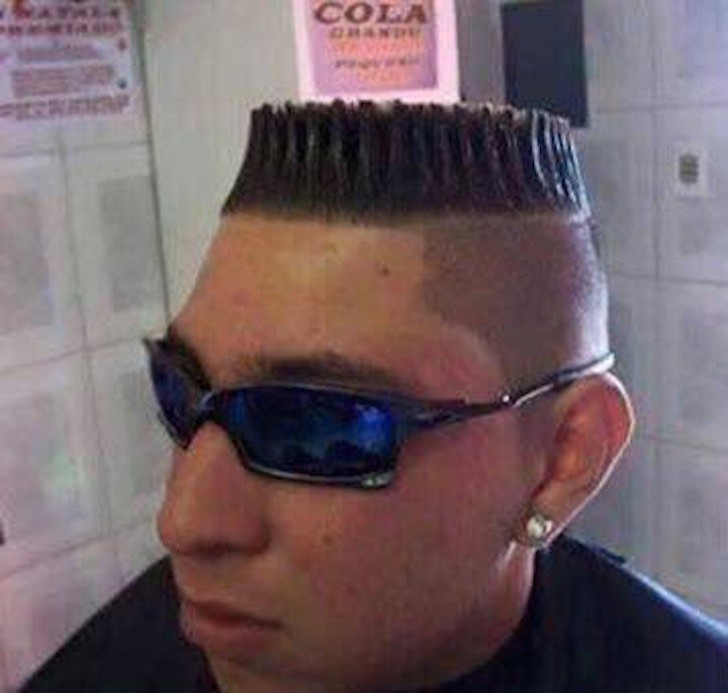 18 haircuts that should be banned by law! 16