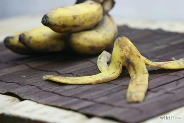 ta bort vårtor med bananskal
