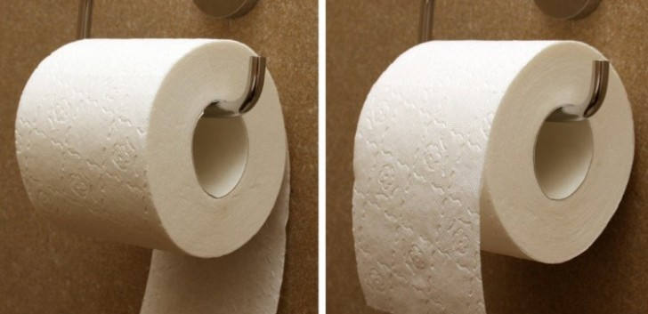 What is the right direction of the toilet paper? The inventor himself tells us!