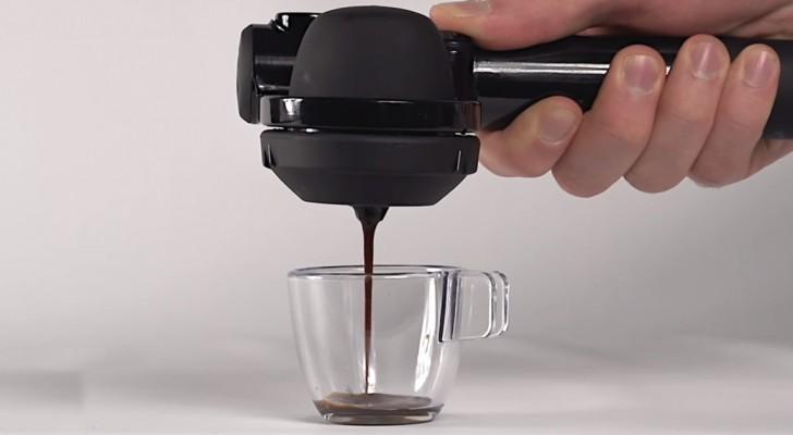 Un espresso où et quand vous voulez? Voici l'invention pour vous!