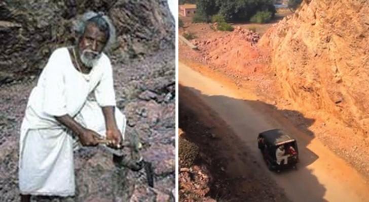Een man veranderde het leven van iedereen in zijn dorp, helemaal in zijn eentje... omdat hij van zijn vrouw hield