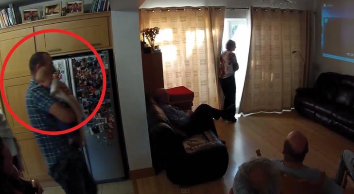 Die Großeltern sehen ihr Enkelkind zum ersten Mal: die Begegnung rührt euch zu Tränen