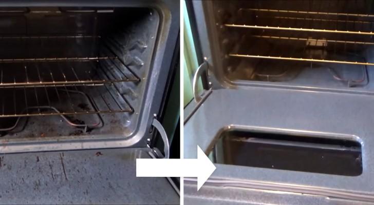 come pulire il forno in modo naturale con bicarbonato e aceto
