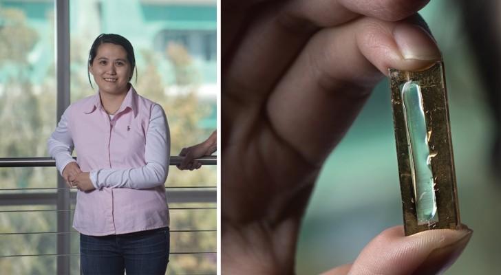 Een studente heeft een systeem ontwikkeld waardoor oplaadbare batterijen kunnen worden ontwikkeld die meer dan 20 jaar meegaan