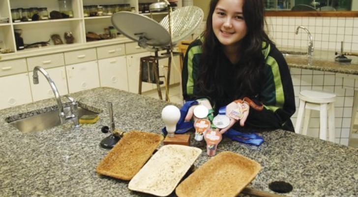Sluta med förorenande förpackningar: den här 17-åringen fick en lysande idé