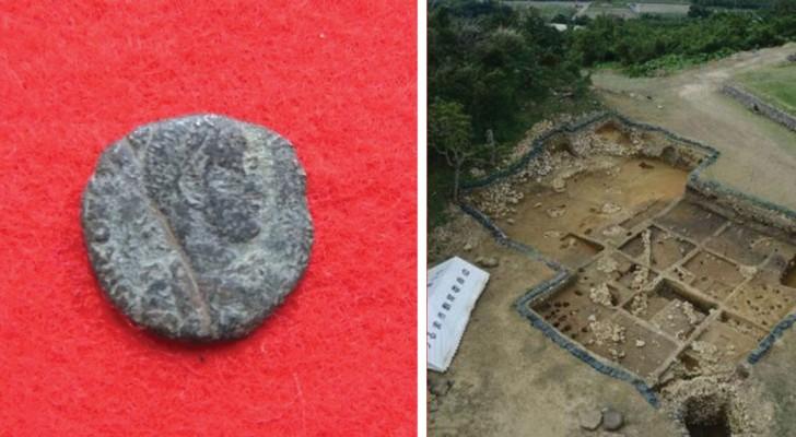 On retrouve des pièces de monnaie romaines dans les ruines d'un château au Japon: les chercheurs sont surpris