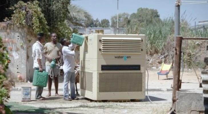 Ecco il macchinario che può ricavare ogni giorno più di 3000 litri d'acqua... dall'aria