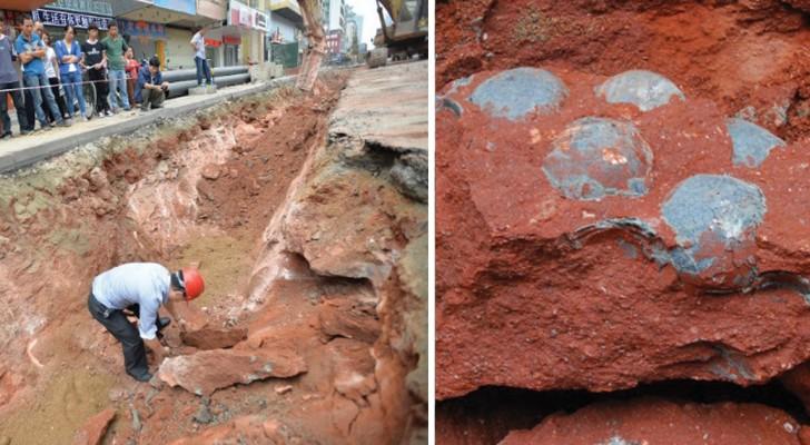 Les travaux d'une route chinoise sont interrompus: les ouvriers font une découverte impressionnante