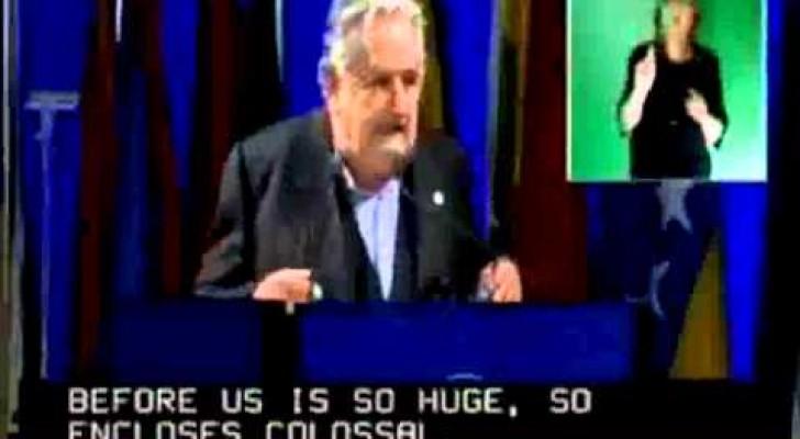 Ascoltate il miglior discorso che un politico abbia mai pronunciato... Le sue parole vi faranno riflettere