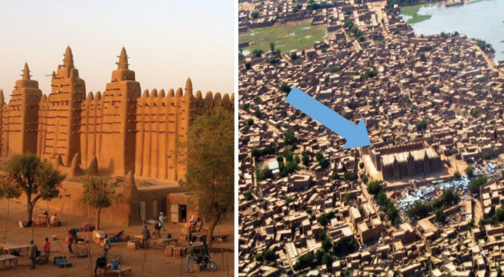 È il più grande edificio di fango mai costruito: scoprite la bellezza di questa secolare moschea