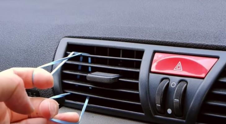 Il passe un élastique dans la ventilation de la voiture et crée un accessoire que vous voudrez vous aussi!
