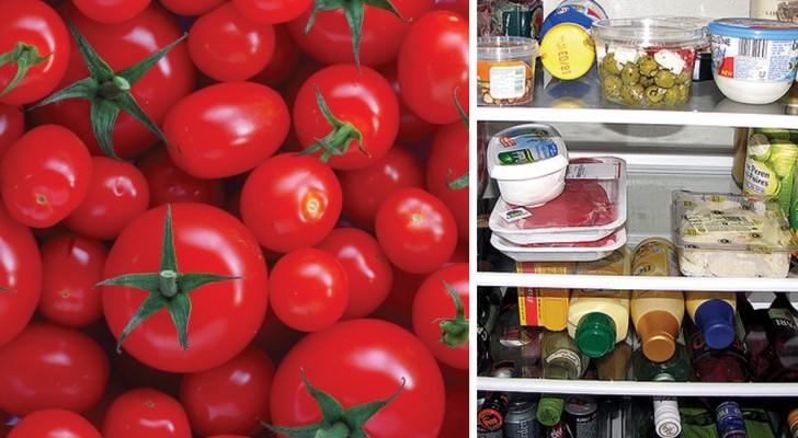 Conservi i pomodori nel frigo? Ecco perché non dovresti farlo