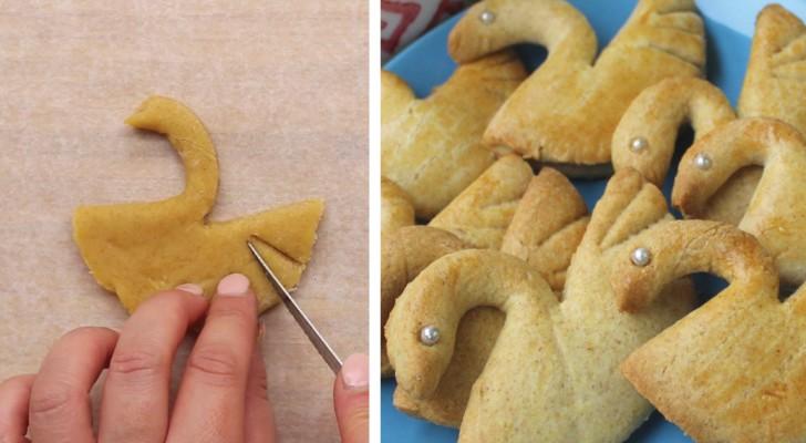 Hier ein leichter Trick, um wunderbare Kekse mit Schwamform zu backen