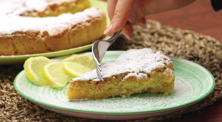 Zitronencreme-Torte: ein Klassiker mit einem delikaten und mitreißenden Geschmack