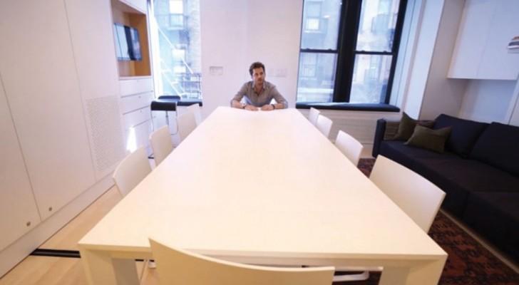 8 kamers verdeeld over 37 vierkante meter: hier zie je hoe dit mogelijk is!