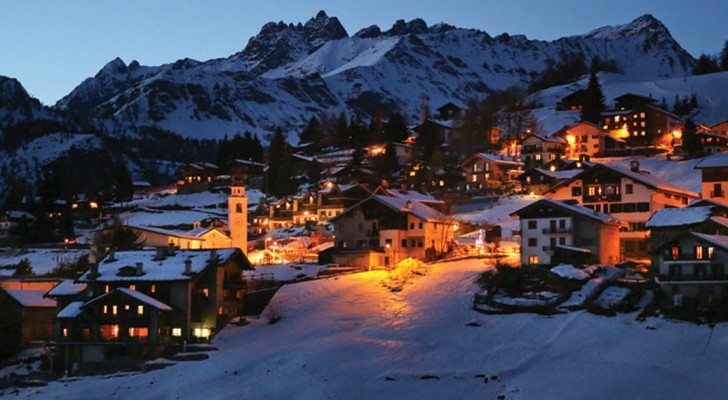Chamois --- a beautiful Italian town that is an Alpine marvel!