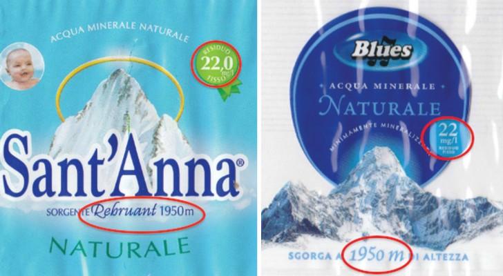 Acqua sant 39 anna e acqua blues una costa il doppio dell for Prezzo acqua blues eurospin