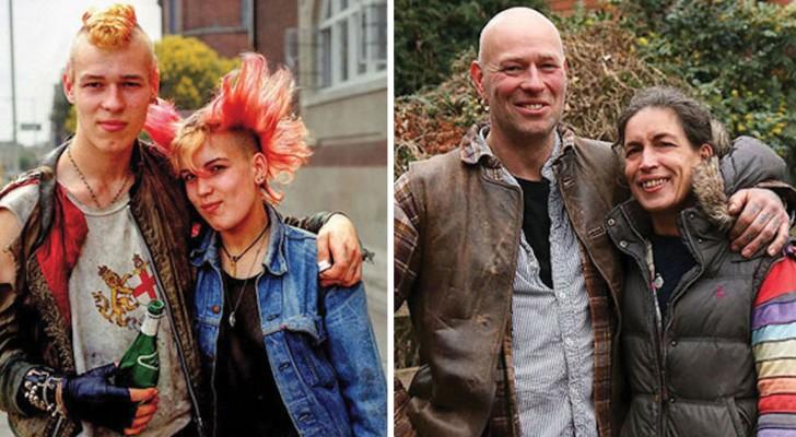 Er spürt Leute 40 Jahre später auf und fotografiert sie in der gleichen Position: Das Resultat ist einzigartig