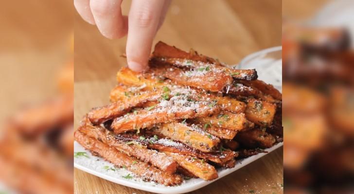 Bâtonnets de carotte au four: tellement sains et bons qu'ils vont vous étonner