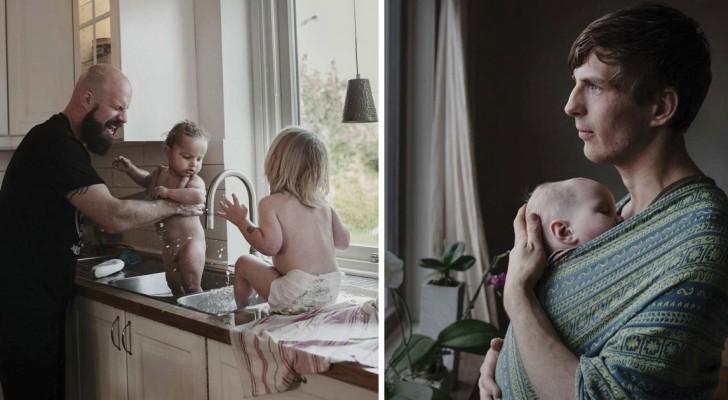 Ce photographe nous montre ce que cela signifie d'avoir 16 mois de congé paternité... et en Suède c'est déjà une réalité