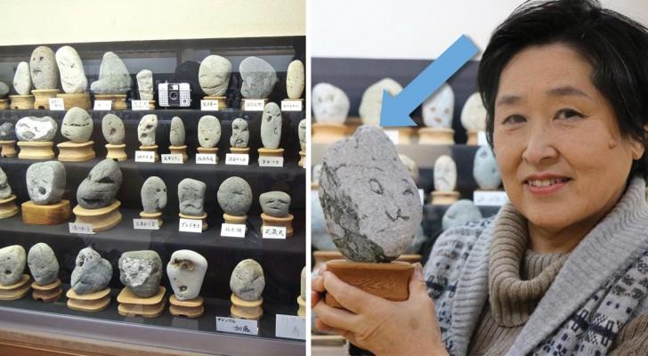 In dit japanse museum staan 1,700 stenen. waarom dat? bekijk het van dichterbij
