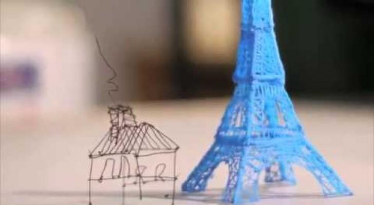 Le stylo magique 3D