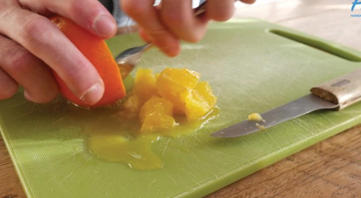 Esvazia uma laranja e conserva a casca: pouco depois a casa fica com um cheirinho delicioso!