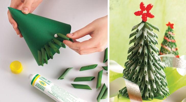 Lavoretti Di Natale Con Stuzzicadenti.8 Idee Per Realizzare Degli Alberi Di Natale Con Materiali