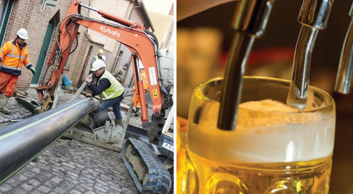 Niente più camion per trasportare la birra: arriva dal Belgio il primo