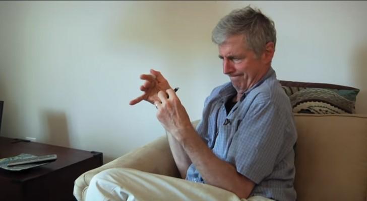 Il a la maladie de Parkinson depuis 20 ans: quand il commence la thérapie avec la marijuana, le résultat est remarquable