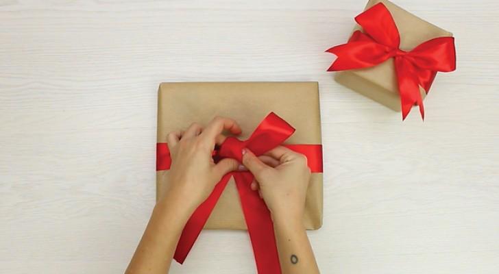 Você deve fazer um pacote? Descubra como fazer um laço perfeito!