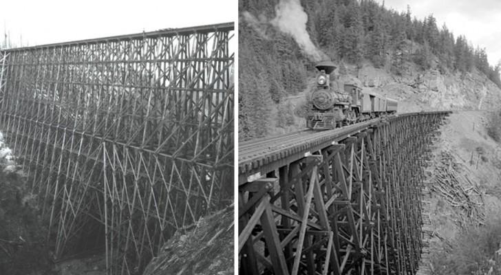Prodigi architettonici dell'800: ecco a voi i maestosi ponti ferroviari di LEGNO