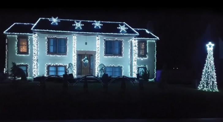 De täcker huset med mer än 18.000 ljus: det blir en fantastisk show