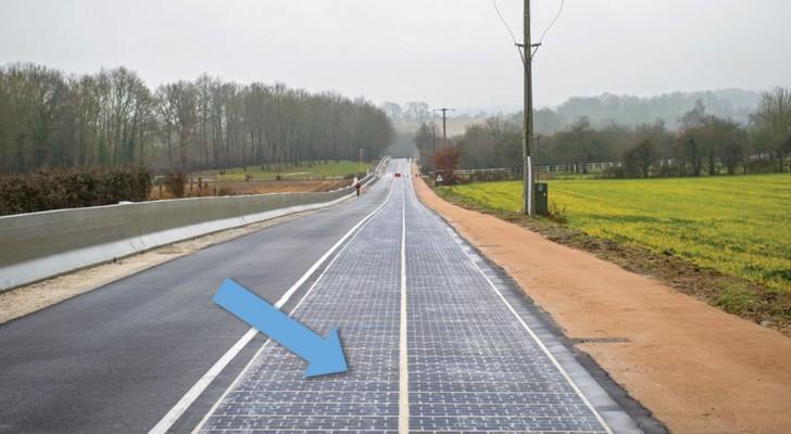 In Frankrijk Ligt De Eerste Zonneweg Ter Wereld. Goed Besteed Geld Volgens Jou?