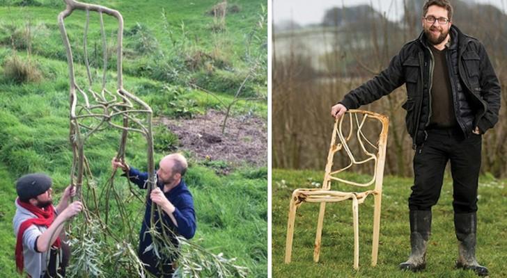 Coltivare... i mobili: ecco l'incredibile idea di questo artista